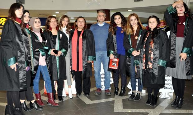 Erzurum Barosu'ndan kadına yönelik şiddete karşı açıklama