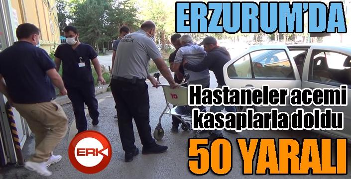Erzurum'da hastaneler acemi kasaplarla doldu...