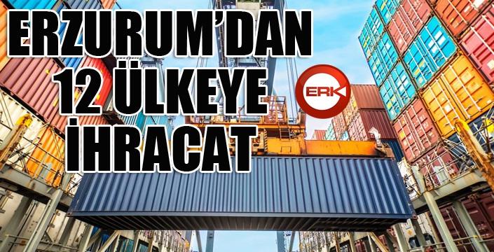 Erzurum'dan 12 ülkeye ihracat