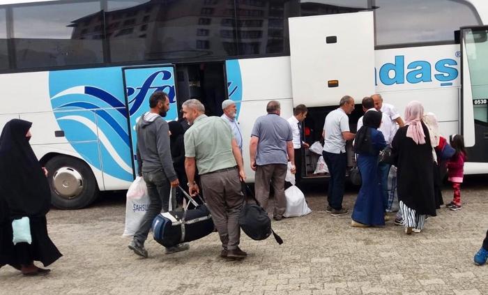 Erzurum'dan 2 Bin 315 İstanbul seçmeni uçak ve karayoluyla uğurlandı