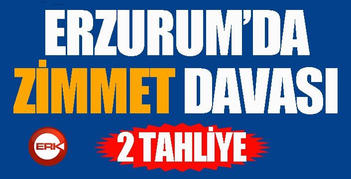 Erzurum İl Sağlık ile Halk Sağlığı Müdürlüklerindeki 'zimmet' davasında 2 tahliye