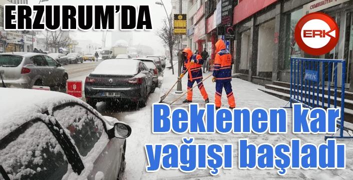 Erzurum kar'a teslim