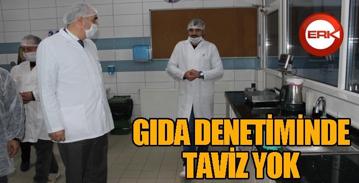 Erzurum Türkiye'de en çok gıda denetimi yapılan üçüncü şehir oldu