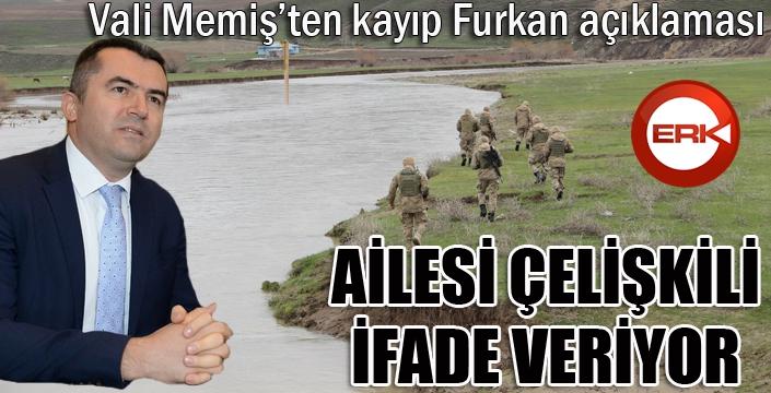 Erzurum Valiliğinden kayıp Furkan ile ilgili açıklama