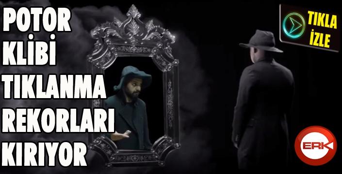 Erzurumlu tiyatrocunun 'Potor' klibi tıklanma rekorları kırıyor...