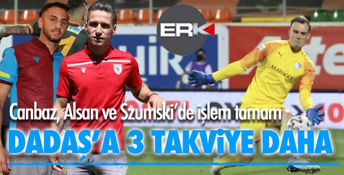 Erzurumspor'a 3 takviye daha...