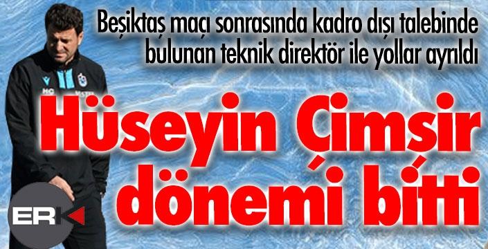 Erzurumspor'da flaş gelişme... Hüseyin Çimşir....