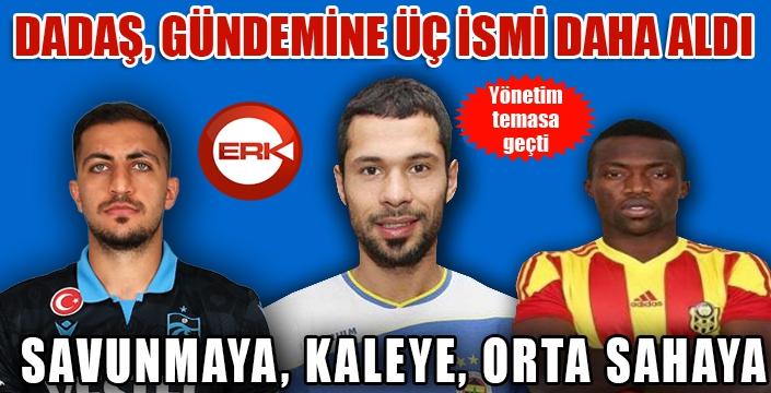 Erzurumspor'da transfer mesaisi...