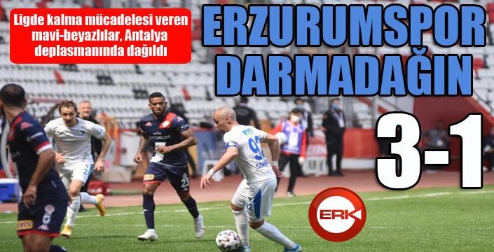 Erzurumspor darmadağın...