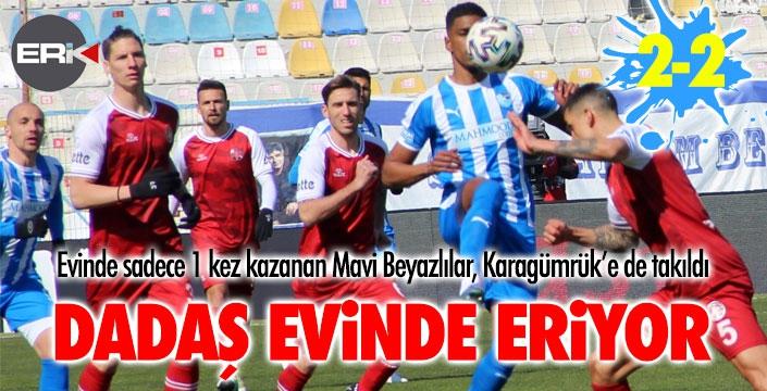 Erzurumspor evinde eriyor...