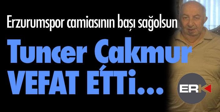 Erzurumspor'un acı kaybı... Tuncer Çakmur vefat etti...