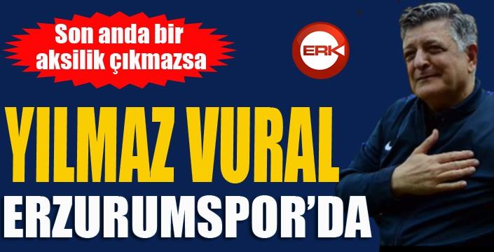 Erzurumspor, Yılmaz Vural'la anlaştı...