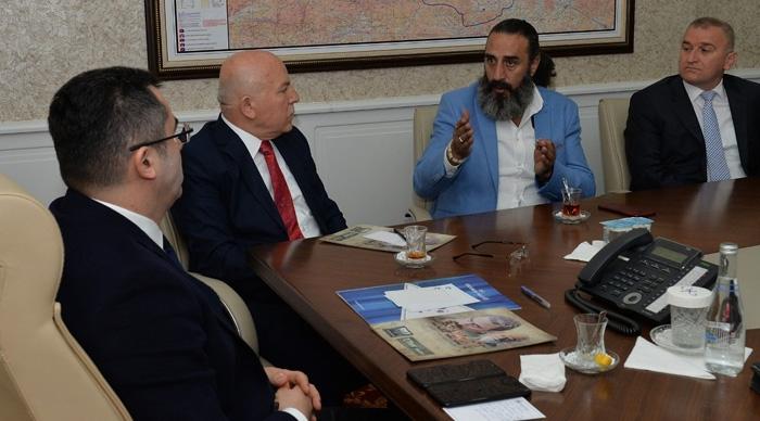 """""""Esaret"""" adlı film Erzurum'da çekilecek"""
