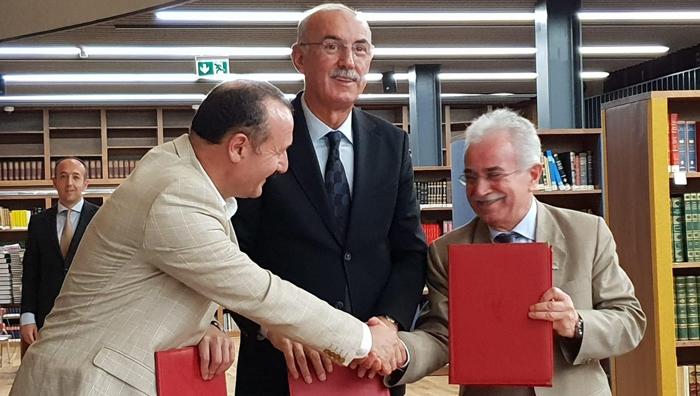 """ETÜ """"2019 Prof. Dr. Fuat Sezgin Yılı"""" işbirliği protokolünü imzaladı"""