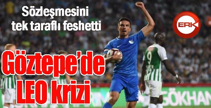 Göztepe'de Leo Schwechlen sözleşmesini tek taraflı feshetti
