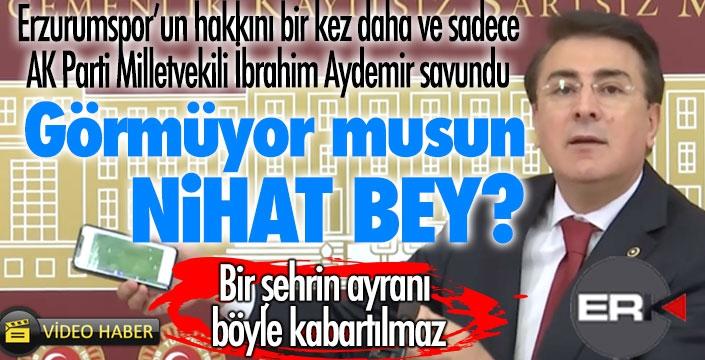 İbrahim Aydemir'den hakem tepkisi: Bir şehrin ayranı böyle kabartılmaz!