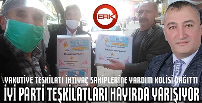 İYİ Parti teşkilatları hayırda yarışıyor...