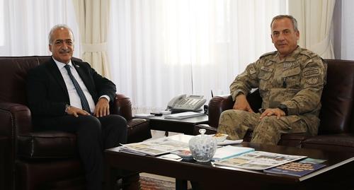 Jandarma Komutanlarından Rektör Çomaklı'ya iade-i ziyaret