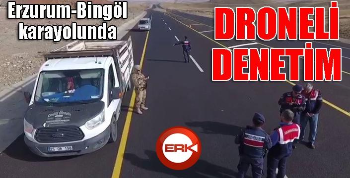 Jandarmadan droneli uygulama