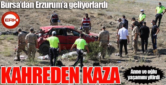 Kahreden kaza: Anne ve oğlu yaşamını yitirdi...