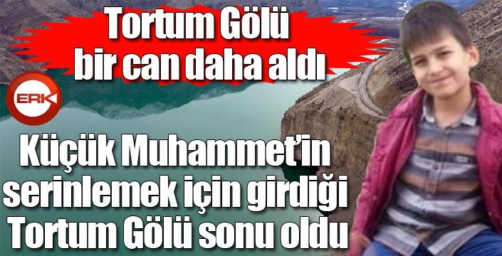 Küçük Muhammet'in serinlemek için girdiği Tortum Gölü sonu oldu