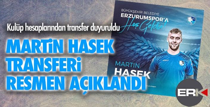 Martin Hesek resmen Erzurumspor'da