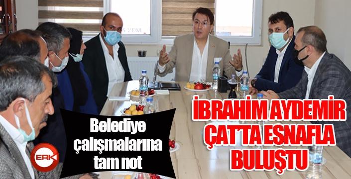 Milletvekili Aydemir Çat'ta incelemelerde bulundu...