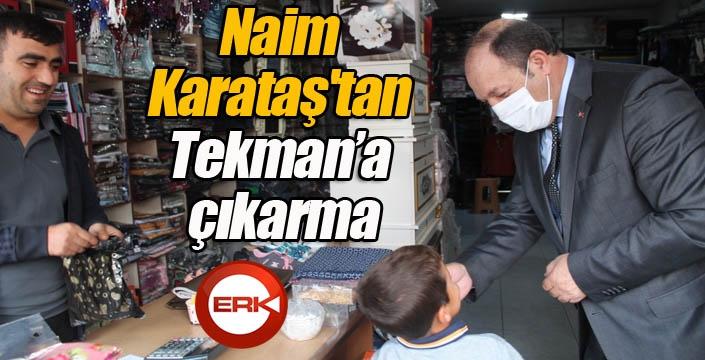Naim Karataş'tan Tekman'a çıkarma