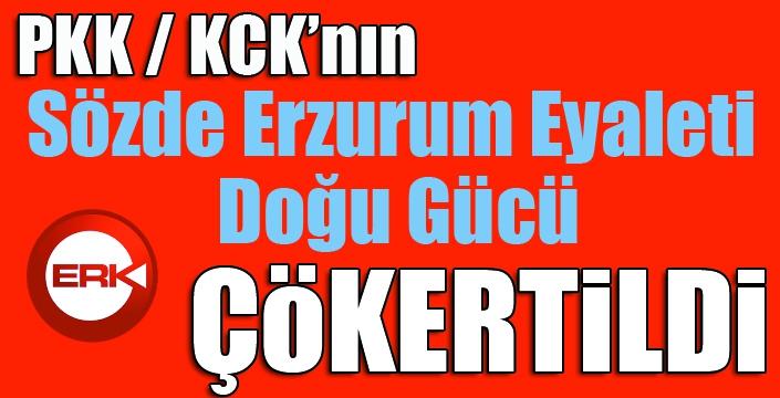 PKK'nın sözde Erzurum Eyaleti Doğu Gücü çökertildi...