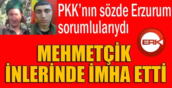 PKK'nın sözde Erzurum sorumluları öldürüldü...