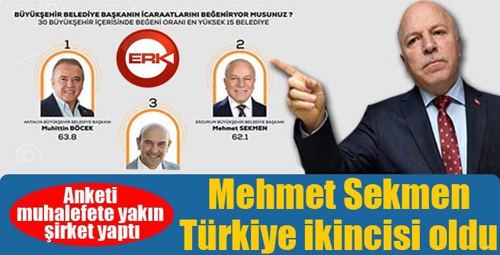 Sekmen Türkiye 2'ncisi oldu