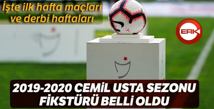 Süper Lig'de 2019-2020 sezonu fikstürü belirlendi