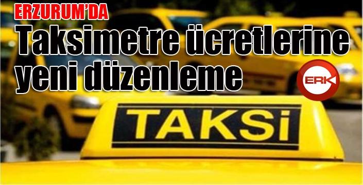 Taksimetre ücretlerine yeni düzenleme