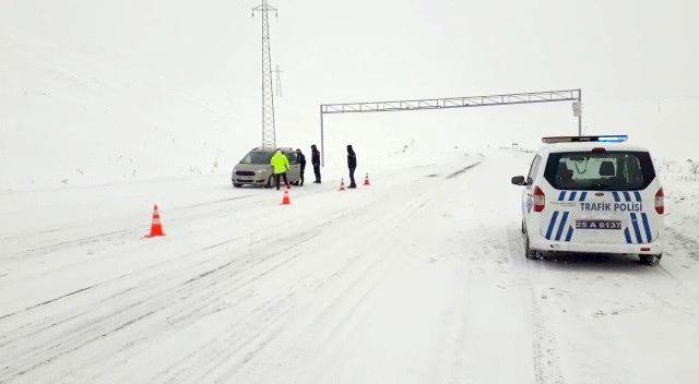 Tekman İlçe Emniyet Müdürlüğü yol güvenliğini artırdı