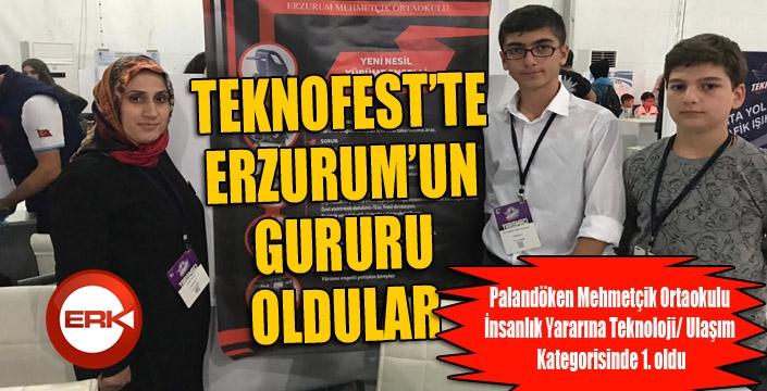 TEKNOFEST'in birincisi Palandöken Mehmetçik