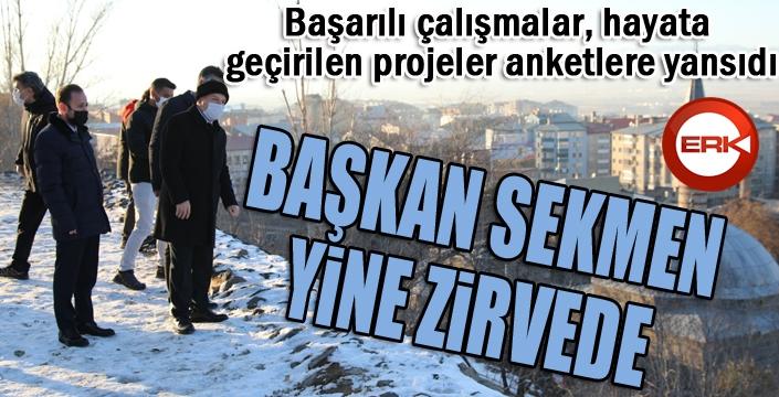 Türkiye'nin en başarılı Büyükşehir Belediye Başkanı: Mehmet Sekmen