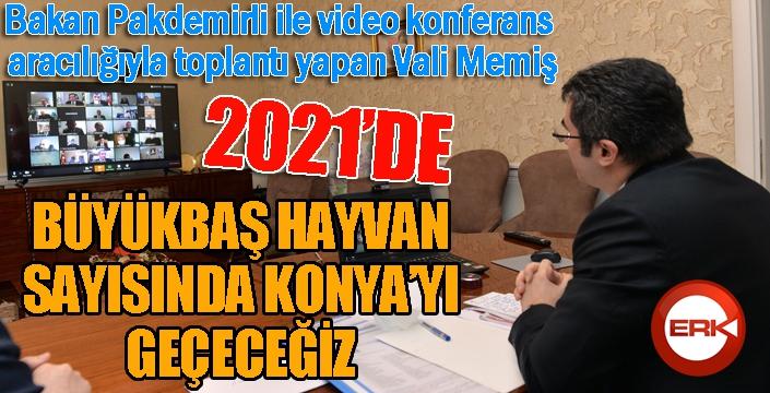 """Vali Memiş: """"Türkiye'deki meraların yüzde 11'ine sahibiz"""""""