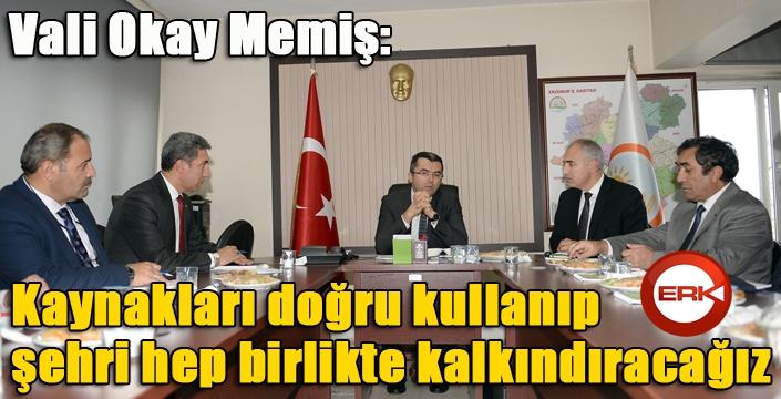 """Vali Okay Memiş: """"Erzurum her konuda büyük potansiyele sahip, doğru kullanmalıyız"""""""